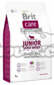 Brit Care Junior Large Breed  Lamb-rice 3kg