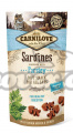 CARNILOVE Cat Semi Moist Snack Sardine enriched with Parsley (50g)