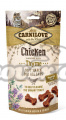 CARNILOVE Cat Semi Moist Snack Chicken enriched with Thyme (50g)