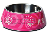Miska ROGZ Bubble Pink Paw S 160ml